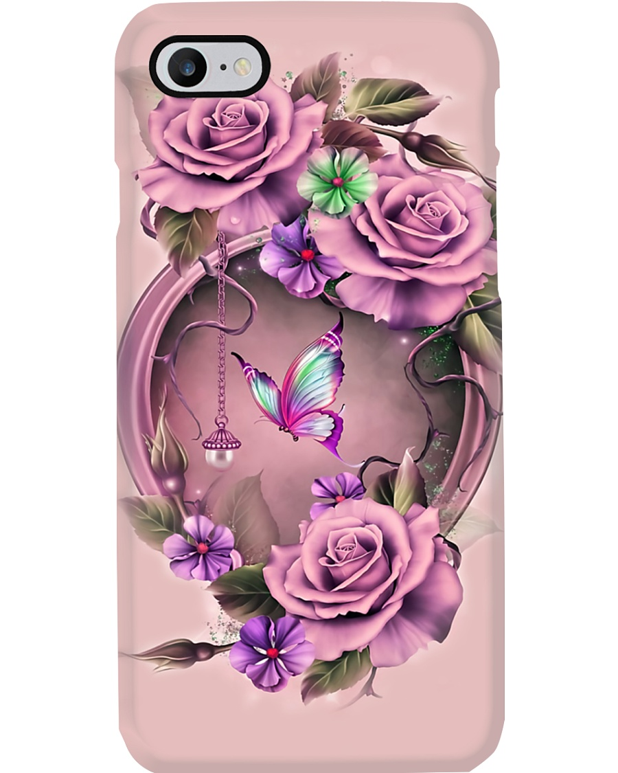 Flower Butterfly Phone Case