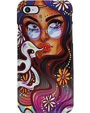 Hippie Girl Phone Case i-phone-7-case