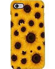 Sunflower Art Phone Case i-phone-7-case