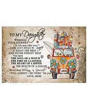 To My Daughter 17x11 Poster thumbnail
