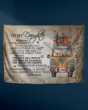 "To My Daughter Wall Tapestry - 36"" x 26"" aos-wall-tapestry-36x26-lifestyle-front-06"