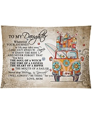 "To My Daughter Wall Tapestry - 36"" x 26"" front"