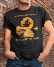 On A Dark Desert Highway Classic T-Shirt apparel-classic-tshirt-lifestyle-26