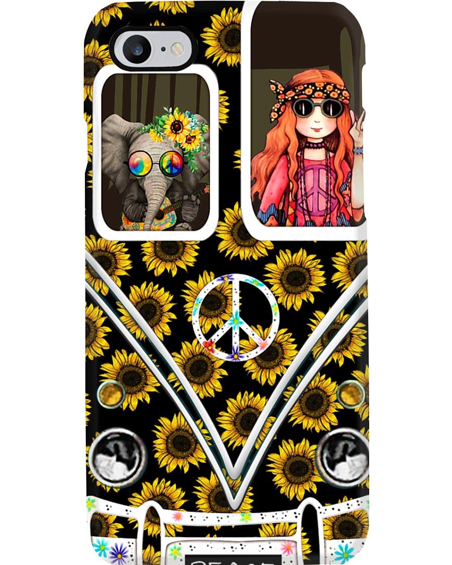 Peace - Sunflower Phone Case