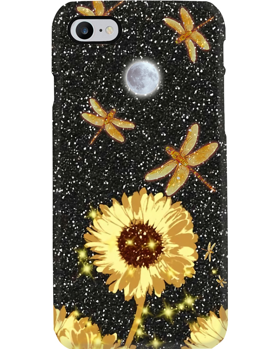 Flower Dragonfly Phone Case