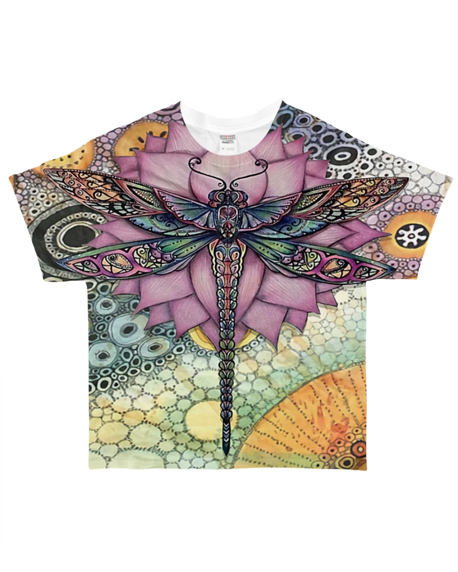 Dragonfly Love All-over T-Shirt