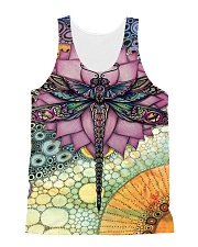 Dragonfly Love All-over Unisex Tank thumbnail