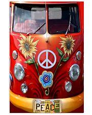Peace Vw Bus 11x17 Poster thumbnail