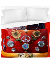 Peace Vw Bus Duvet Cover - King thumbnail