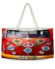 Peace Vw Bus Weekender Tote thumbnail