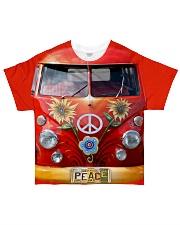 Peace Vw Bus All-over T-Shirt thumbnail