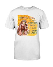 Hippie Girl Classic T-Shirt front