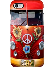 Hippie Vw Bus Phone Case tile