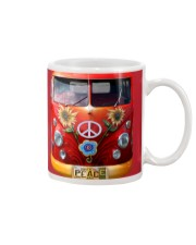 Hippie Vw Bus Mug tile