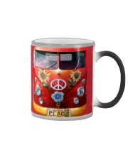 Hippie Vw Bus Color Changing Mug tile