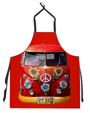 Hippie Vw Bus Apron tile