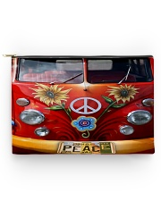 Hippie Vw Bus Accessory Pouch tile