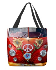 Hippie Vw Bus All-Over Tote tile