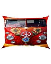 Hippie Vw Bus Rectangular Pillowcase thumbnail