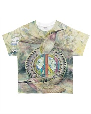 Bird Peace All-over T-Shirt front