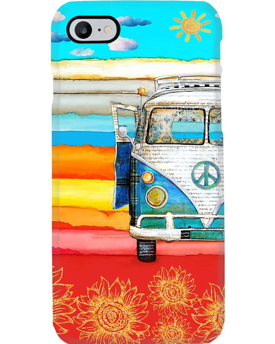 Hippie Vw Bus Phone Case