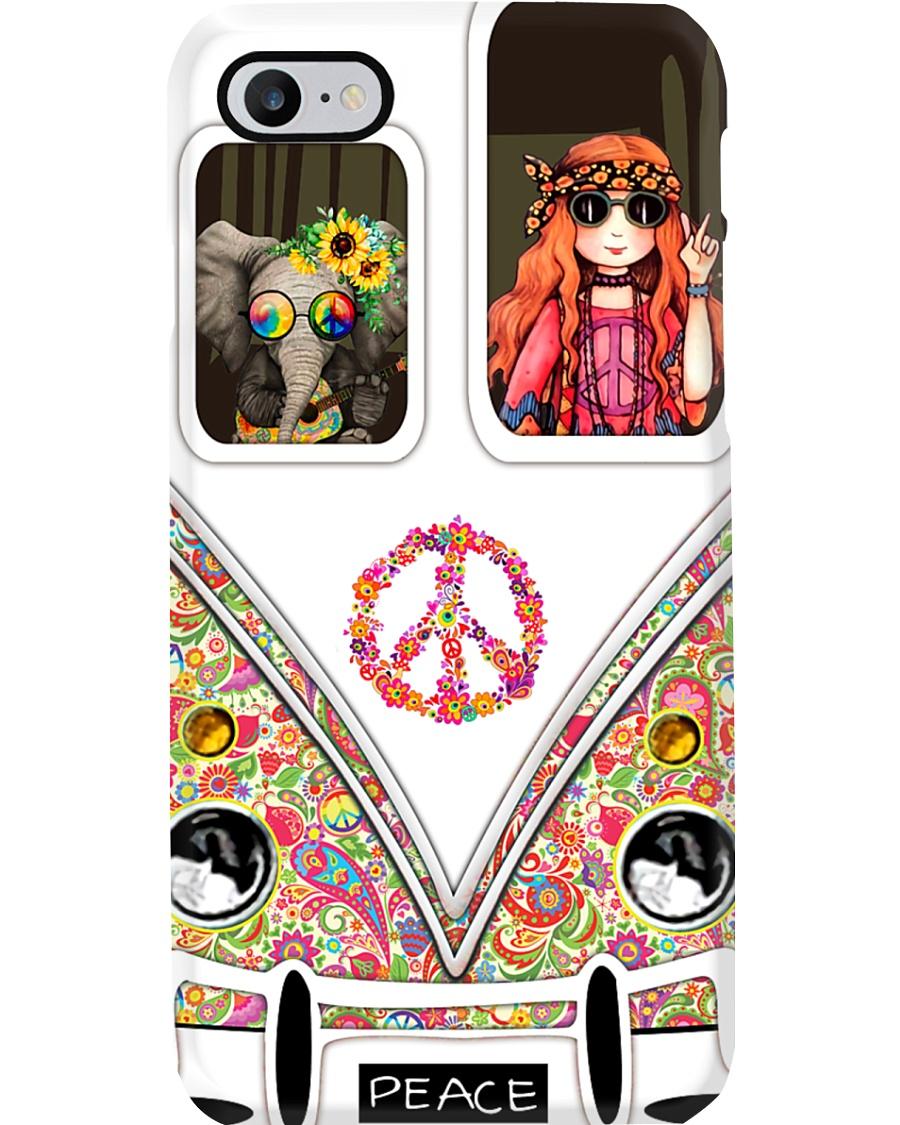 Hippie Flower Child Phone Case