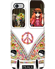 Hippie Flower Child Phone Case i-phone-7-case