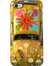 Hippie Vw Bug yellow Phone Case i-phone-7-case