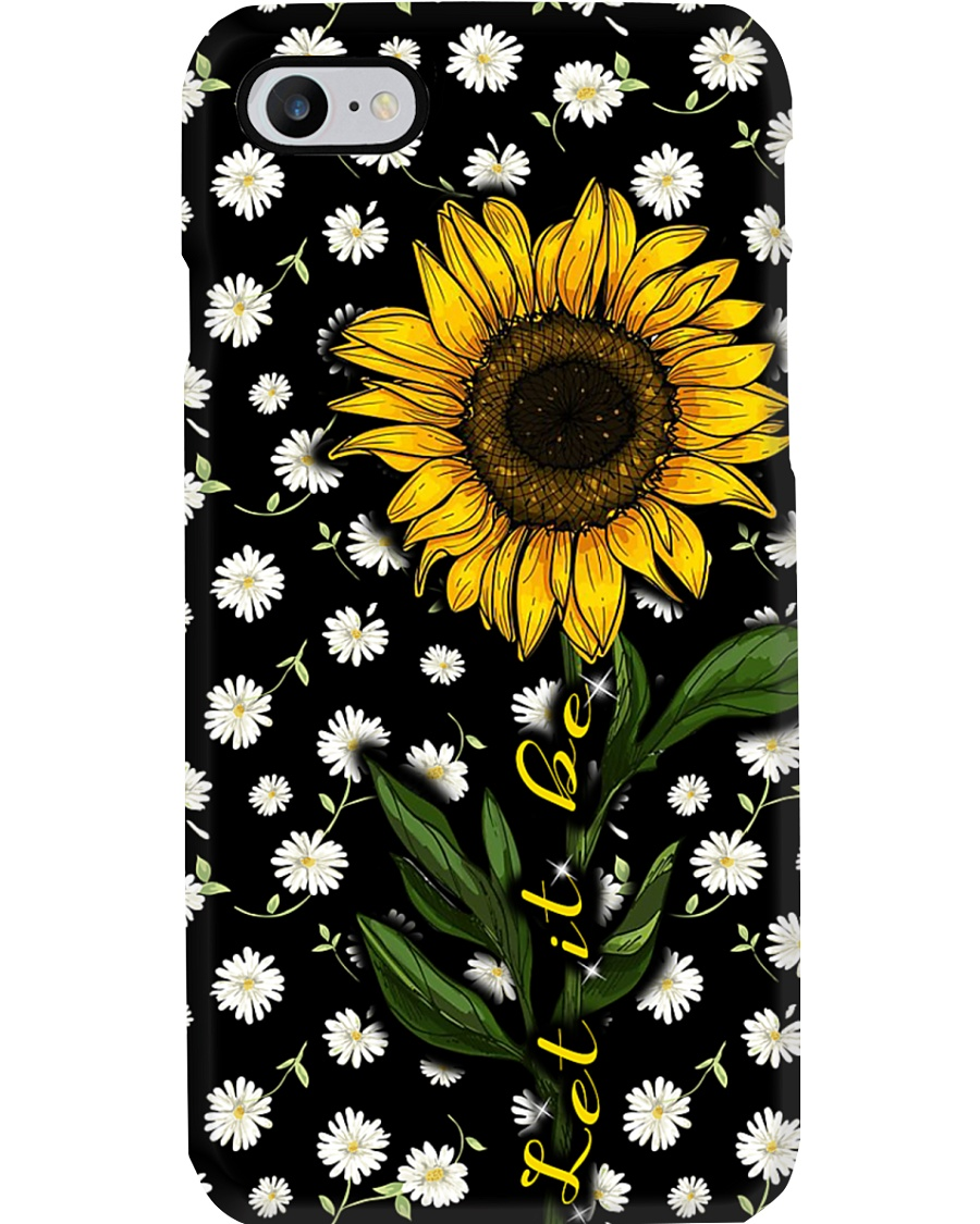 let it be sunflower Phone Case