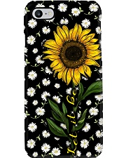 let it be sunflower Phone Case i-phone-7-case
