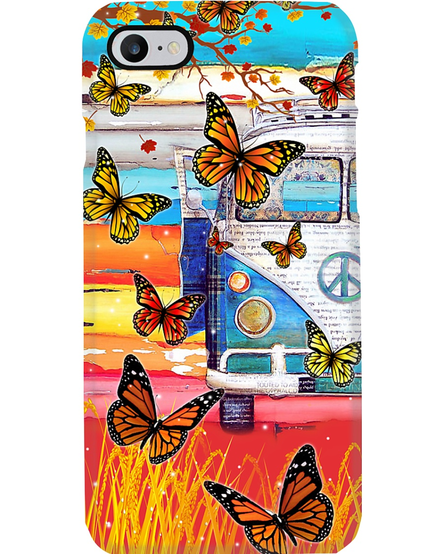 Vw But - Butterfly Phone Case
