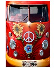 Be Happy VW Bus 11x17 Poster thumbnail