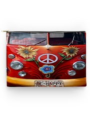 Be Happy VW Bus Accessory Pouch - Large thumbnail