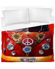 Be Happy VW Bus Duvet Cover - King thumbnail