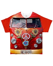 Be Happy VW Bus All-over T-Shirt thumbnail