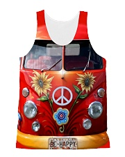 Be Happy VW Bus All-over Unisex Tank thumbnail