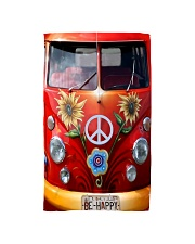 Be Happy VW Bus Hand Towel thumbnail