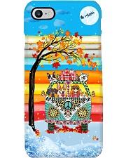 Girl Vw Bus Christmas Phone Case i-phone-7-case