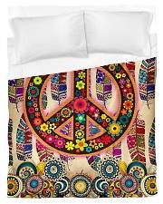 Hippie Art Duvet Cover - Twin thumbnail