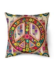 "Hippie Art Indoor Pillow - 16"" x 16"" thumbnail"