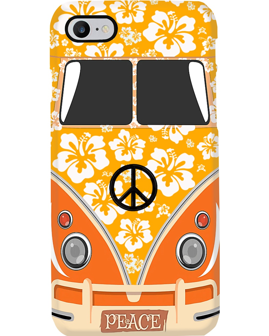 Flower VW Bug Phone Case