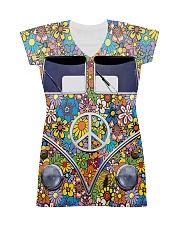 Hippie Girl - Vw Bus All-over Dress thumbnail