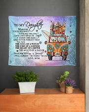 """To My Daughter Wall Tapestry - 36"""" x 26"""" aos-wall-tapestry-36x26-lifestyle-front-01"""
