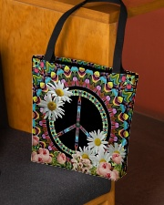 Flower Peace All-over Tote aos-all-over-tote-lifestyle-front-02