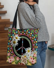 Flower Peace All-over Tote aos-all-over-tote-lifestyle-front-09