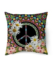 "Flower Peace Indoor Pillow - 16"" x 16"" thumbnail"