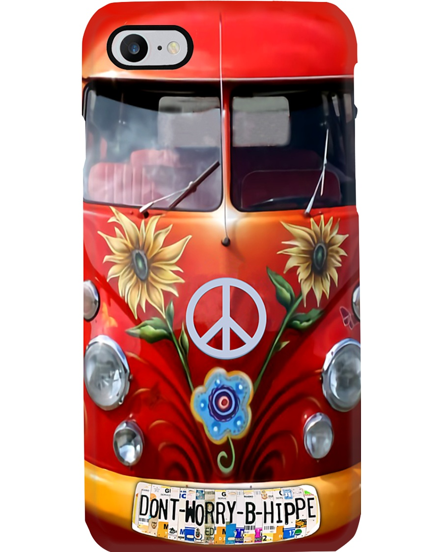 Dont Worry Be Hippie Phone Case