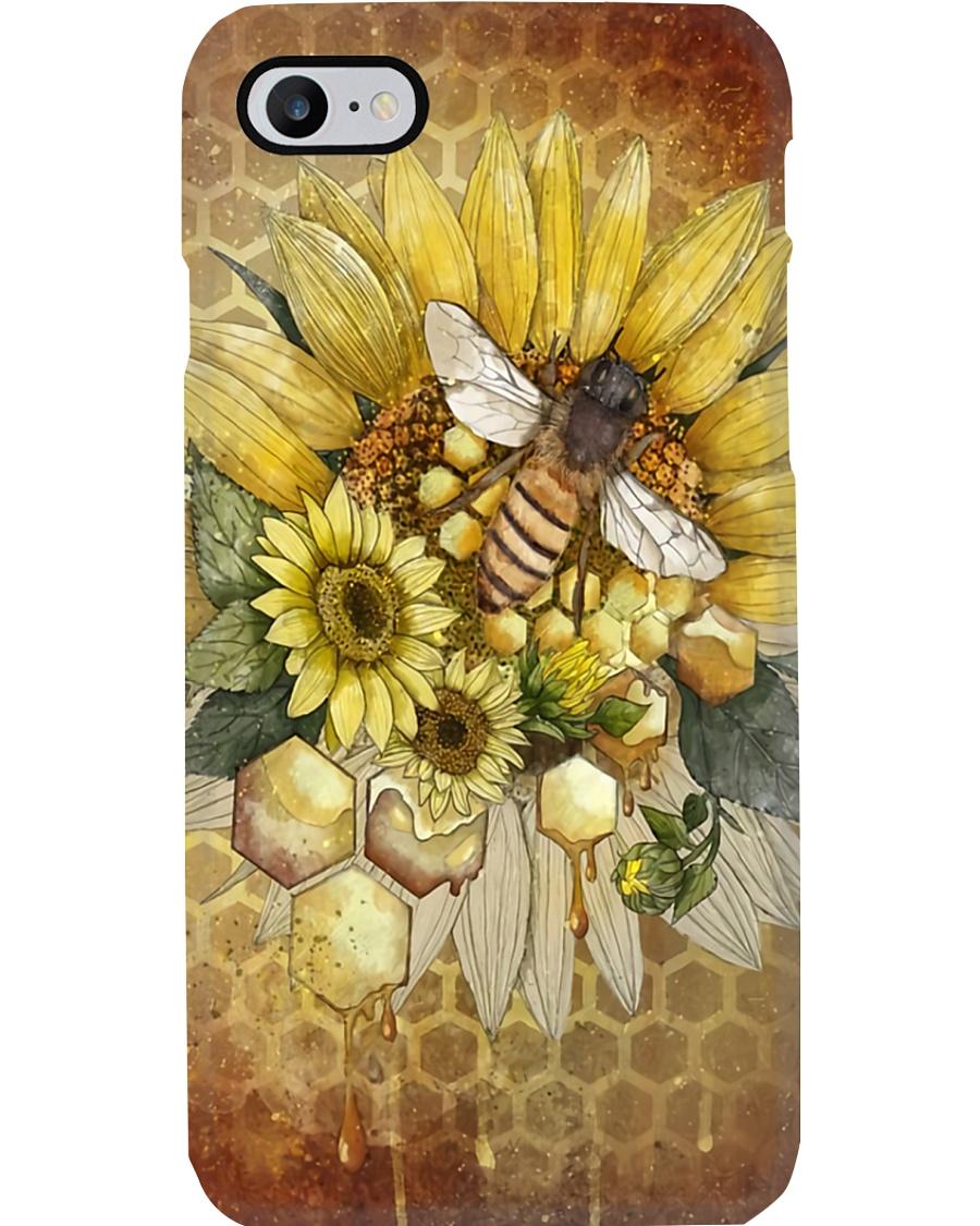 Bee Sunflower Phone Case
