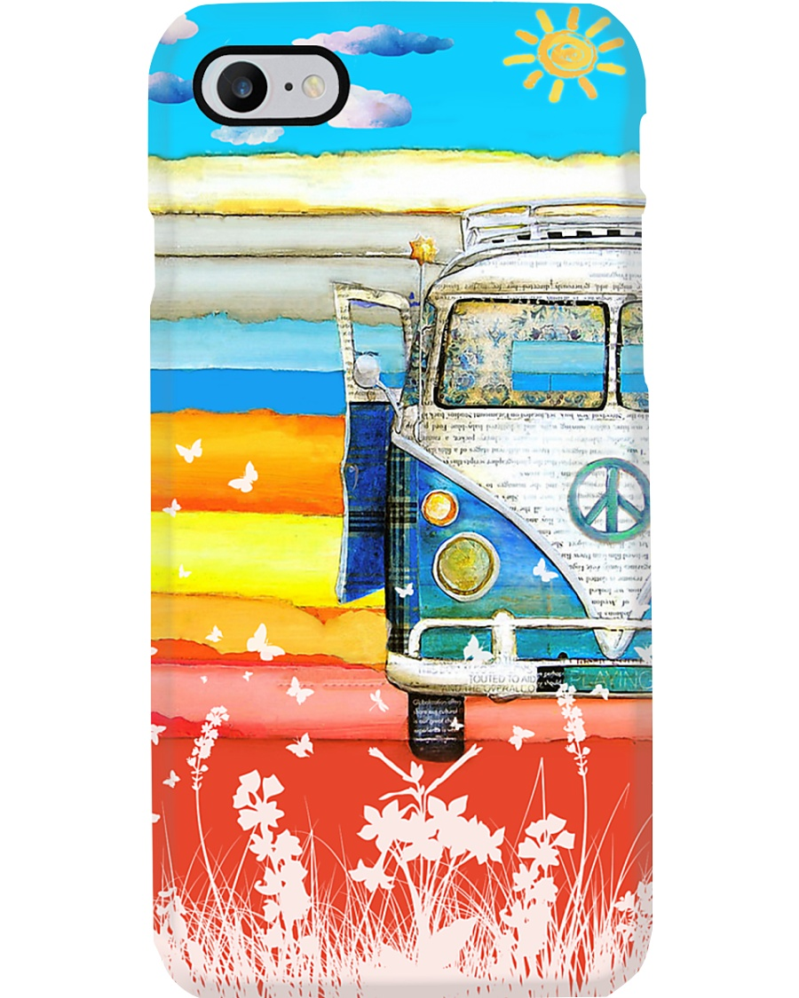 Hippie Vw Bus 2 Phone Case