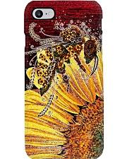 Bee Sunflower Phone Case i-phone-7-case